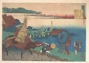 Poem by Motoyoshi Shinnō, from the series One Hundred Poems Explained by the Nurse (Hyakunin isshu uba ga etoki)