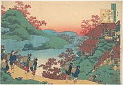 Poem by Sarumaru Dayū, from the series One Hundred Poems Explained by the Nurse (Hyakunin isshu uba ga etoki)