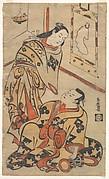 Kabuki Actors Nakamura Gentaro and Ikushima Shingoro