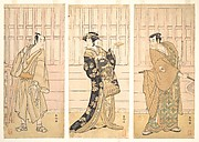 In the Room of a House of the Yoshiwara