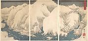Kiso Gorge in the Snow
