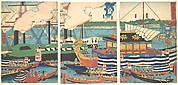 View of Shibaura, from the series Eastern Capital (Tōto, Shibaura no fūkei)