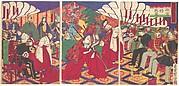Commanders Receiving the Emperor's Drinking Cups
