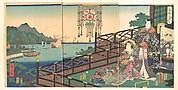 Mitsuuji in the Maruyama Pleasure District of Nagasaki (Nagasaki dejima)