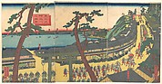 Daimyo's Processions Passing along the Tōkaidō