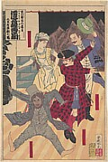 The Strange Tale of the Castaways: A Western Kabuki (Hyōryō kidan seiyō kabuki) by the Playwright Kawatake Mokuami