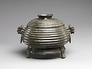 Ritual Grain Vessel with Cover (Gui)