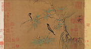 Finches and Bamboo