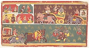 Episodes from Krishna's Life: Folio from a Bhagavata Purana (Ancient Stories of Lord Vishnu)