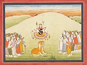 The Creation of Durga: Page from a Dispersed Markandeya Purana: (Stories of the Sage Markandeya)