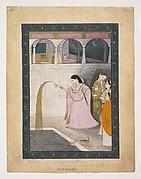 Lady Holding a Sparkler