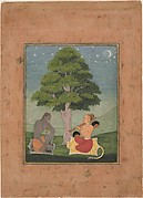 Kedar Ragini: Folio from a ragamala series (Garland of Musical Modes)