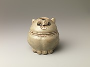 Lime Pot in the Shape of Cat