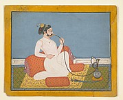 Portrait of Thakur Utham Ram of Jhalai