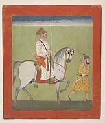 Jhujhar Singh on Horseback