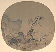 Viewing plum blossoms by moonlight