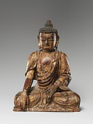 Buddha, probably Akshobhya (Achu fo)