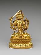 Bodhisattva Manjushri as Tikshna-Manjushri (Minjie Wenshu)