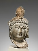 Head of a Bodhisattva