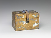 Box with Butterflies and Ferns