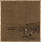 Bird Near Water (from Album of Studies by Modern Artists, no. 62)