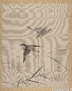 Small Birds and Bamboo