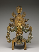 Altarpiece dedicated to the Buddha Maitreya (Mile fo)