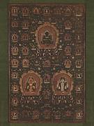 Mandala of Vajradhara, Manjushri and Sadakshari -Lokeshvara