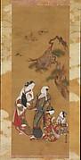 Yukihira and Two Brinemaidens at Suma