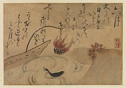 """Sixth Month"" after Fujiwara no Teika's ""Poems of Birds and Flowers of the Twelve Months,"" from Gleanings of Worthless Weeds (Shuiguso)"