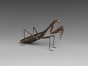Incense Burner in Form of a Praying Mantis