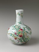 Vase with Peaches