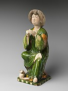 Figure of a Seated Court Lady