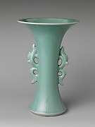Vase in Shape of Archaic Chinese bronze
