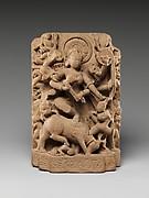 The Goddess Durga Slaying the Buffalo Demon (Mahisasura Mardini)