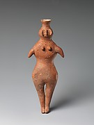 Vessel in the Shape of a Female