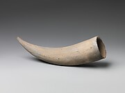 Horn-Shaped Drinking Cup
