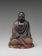 Buddhist monk Bodhidharma (Chinese: Damo)