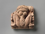 Lotus-Headed Fertility Goddess Lajja Gauri
