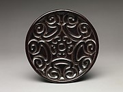 "Dish with ""Pommel Scroll"" Design"