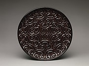 "Tray with ""Pommel Scroll"" Design"