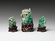 Miniature mountains representing the mythical realm Penglai