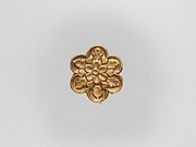 Flower-Shaped Clothing Plaque