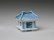 Water dropper in the shape of a house