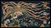 Buddhist Priest's Vestment (Kesa) with Phoenix