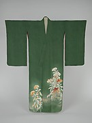 Kimono with Cockscomb Flowers