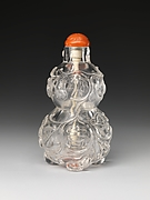 Snuff Bottle in the Shape of a Gourd