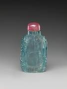 Snuff Bottle with Floral Design