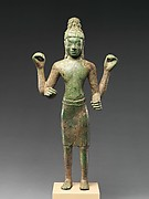 Standing Four-Armed Avaolkiteshvara, the Bodhisattva of Infinite Compassion