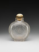 Snuff bottle with the character of longevity (shou)